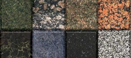 Gerade Pflastersteine aus Granit